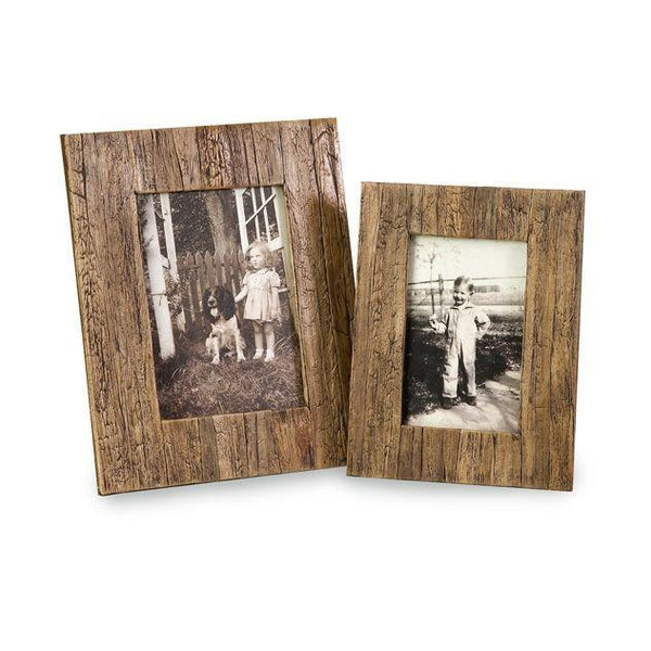 Imax Faux Wood Frame-IMAX-Sleeping Giant