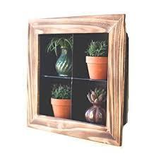 Kalalou Metal with Wood Framed Wall Display-Kalalou-Sleeping Giant