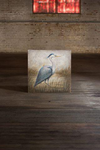 Kalalou Oil Painting Blue Heron-Kalalou-Sleeping Giant