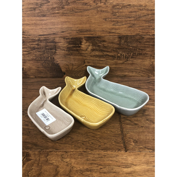 Kalalou Whale Trays (Set Of 3)-KALALOU-Sleeping Giant