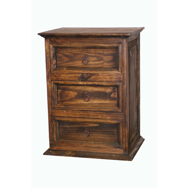 LMT 3-Drawer Nightstand-LMT-Sleeping Giant