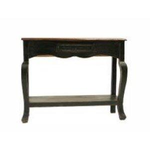 LMT Black Walnut Ale Console Table-LMT-Sleeping Giant