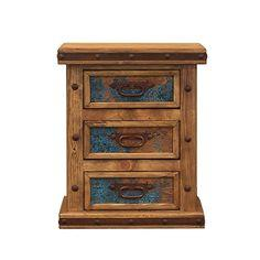 LMT Copper Panel Nightstand-LMT-Sleeping Giant