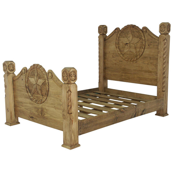 LMT Country Bed With Rope & Star-LMT-Sleeping Giant