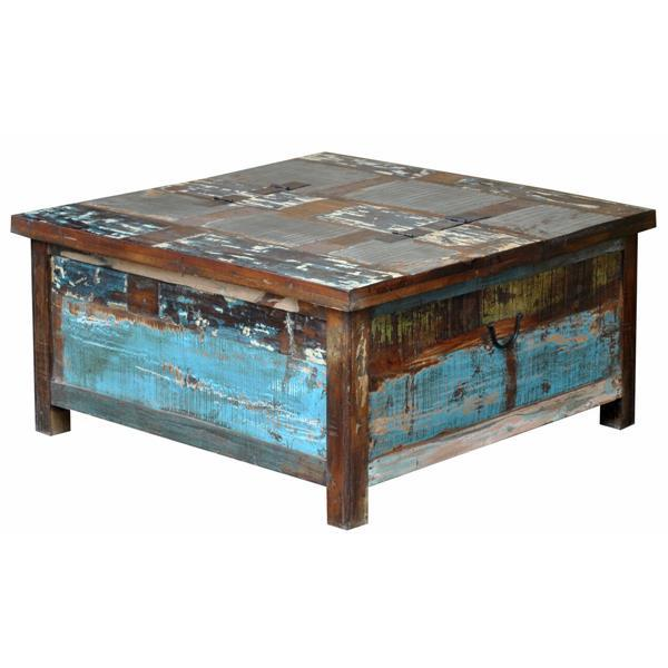 LMT Lift-Top Trunk Coffee Table-LMT-Sleeping Giant