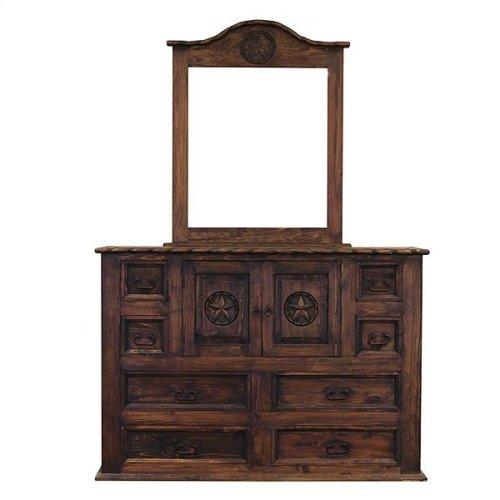 LMT Mansion Dresser With Rope & Star-LMT-Sleeping Giant