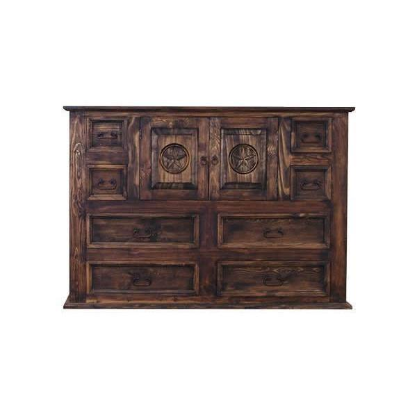 LMT Mansion Dresser With Star-LMT-Sleeping Giant