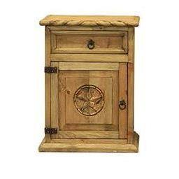LMT Nightstand With Rope & Star-LMT-Sleeping Giant