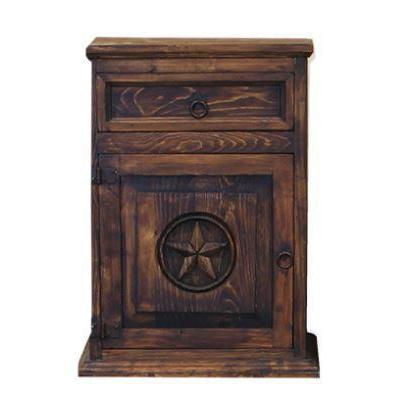 LMT Nightstand With Star-LMT-Sleeping Giant
