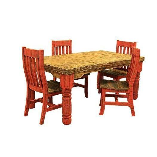 LMT Painted Red Dining Collection-LMT-Sleeping Giant