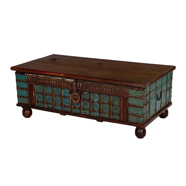 Lmt Painted Trunk Coffee Table Sleeping Giant