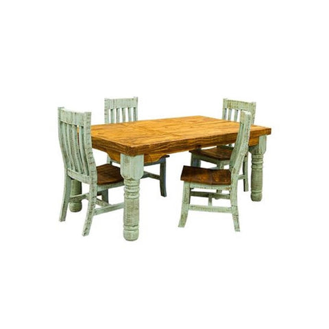 LMT Painted Turquoise Dining Collection-LMT-Sleeping Giant