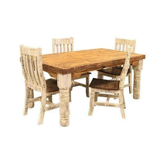 LMT Painted White Dining Collection-LMT-Sleeping Giant