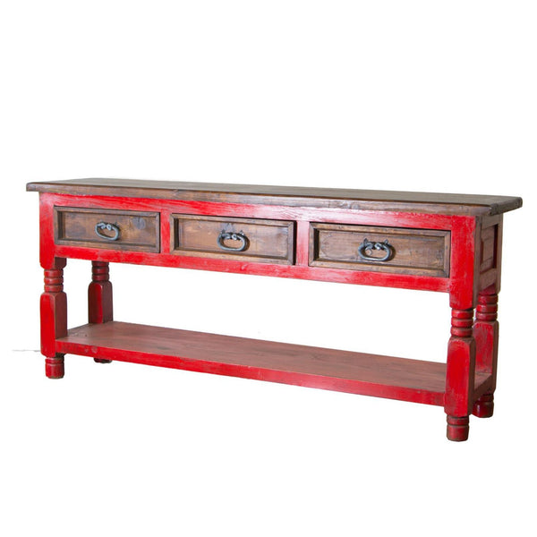 LMT Red Walnut Console Table-LMT-Sleeping Giant