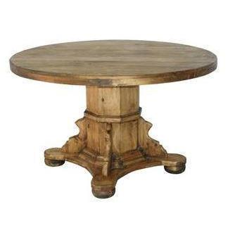 LMT Round Dining Table-LMT-Sleeping Giant
