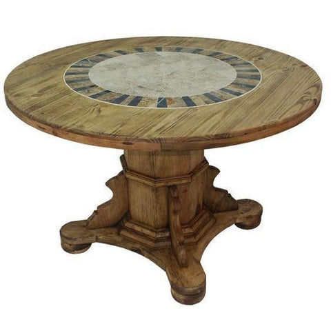 LMT Round Marble Dining Table-LMT-Sleeping Giant