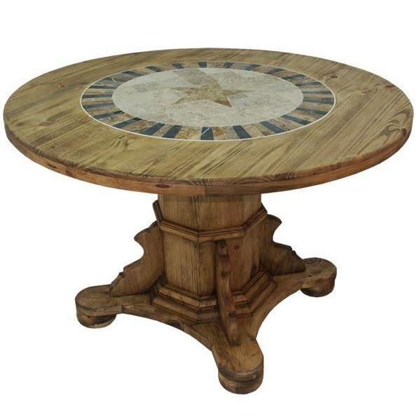 LMT Round Marble With Star Dining Table-LMT-Sleeping Giant
