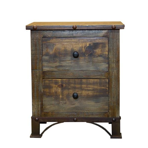 LMT Urban Rustic Nightstand-LMT-Sleeping Giant