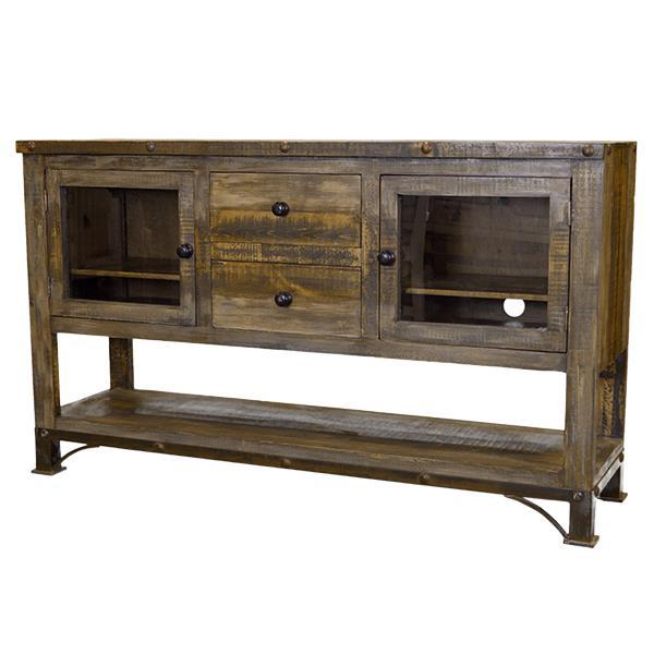 LMT Urban Rustic TV Stand-LMT-Sleeping Giant