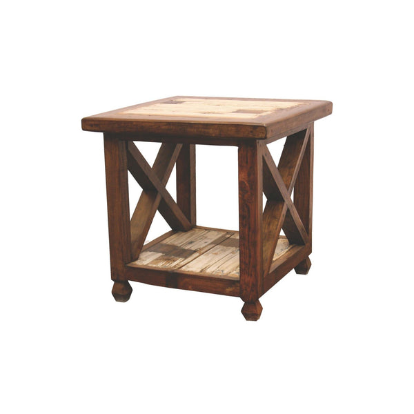 LMT White Farmhouse Occasional Table Collection-LMT-Sleeping Giant