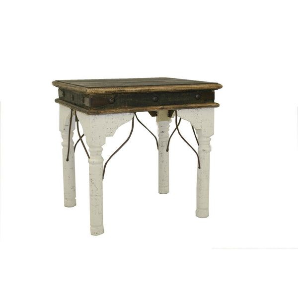 LMT White Indian Occasional Table Collection-LMT-Sleeping Giant