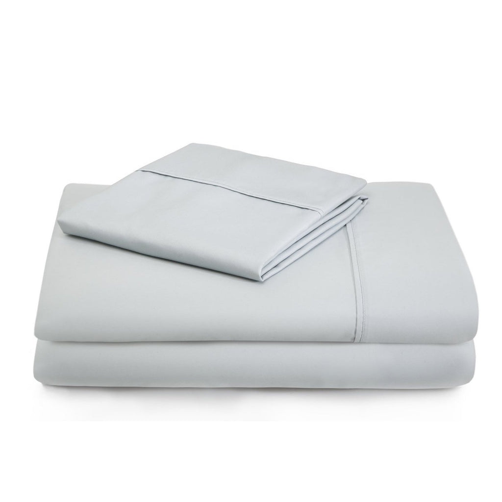 Malouf 600 TC Cotton Blend Ash Pillowcase-Malouf-Sleeping Giant