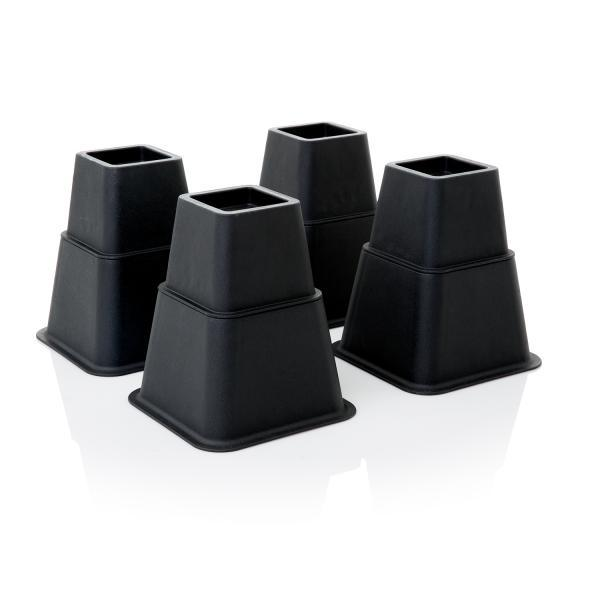 Malouf Adjustable Bed Risers-Malouf-Sleeping Giant