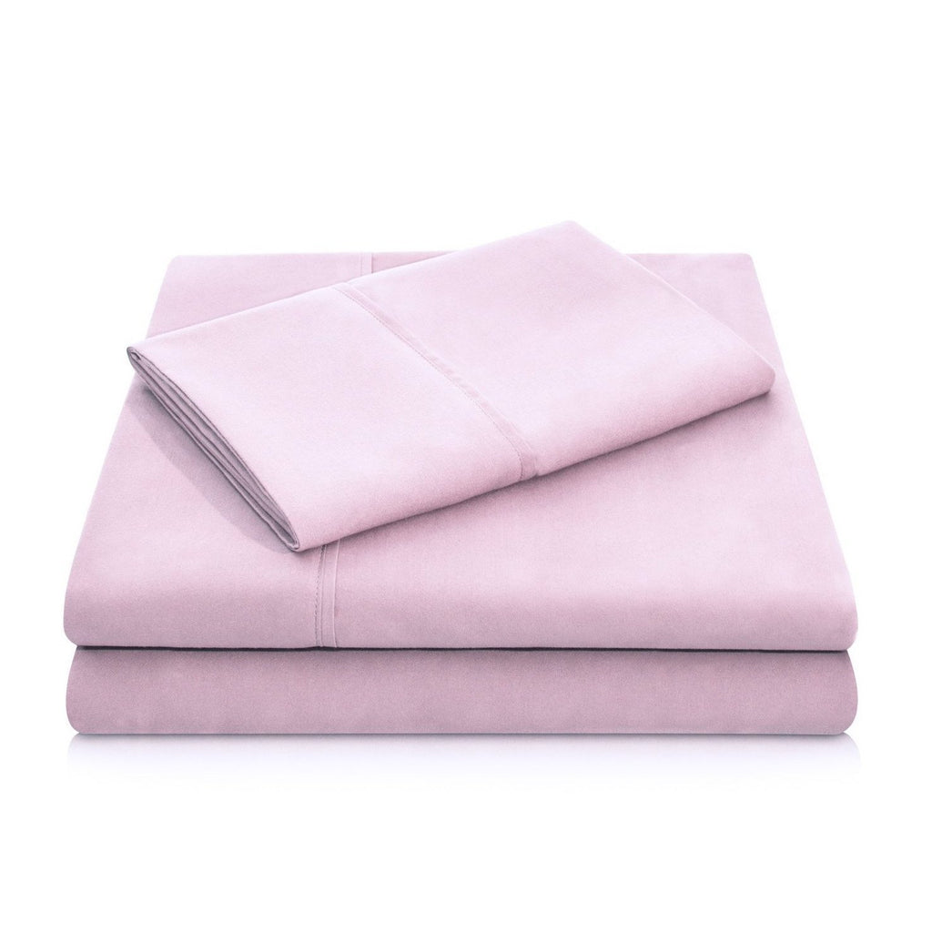 Malouf Brushed Microfiber Blush Pillowcase-Malouf-Sleeping Giant
