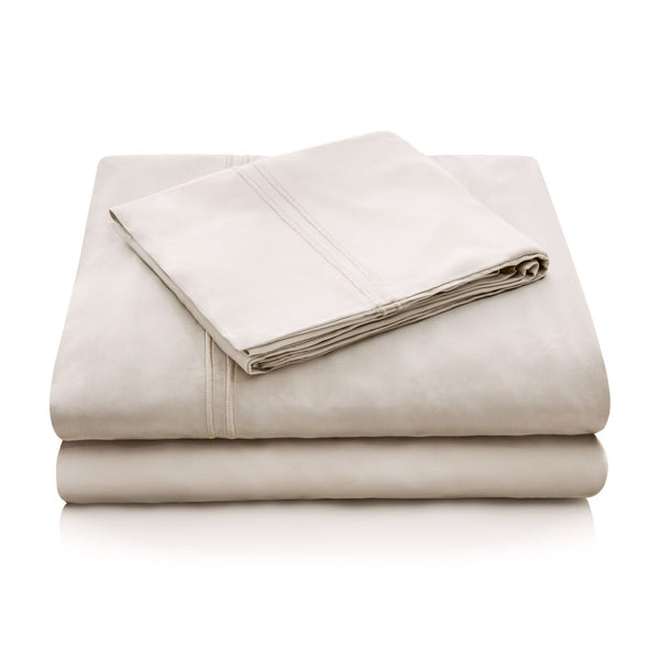 Malouf Brushed Microfiber Driftwood Pillowcase-Malouf-Sleeping Giant