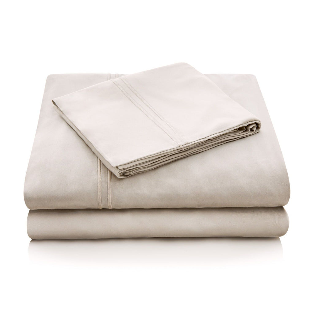Malouf Brushed Microfiber Driftwood Sheet Set-Malouf-Sleeping Giant