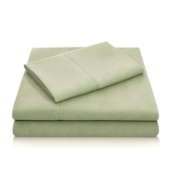 Malouf Brushed Microfiber Fern Pillowcase-Malouf-Sleeping Giant