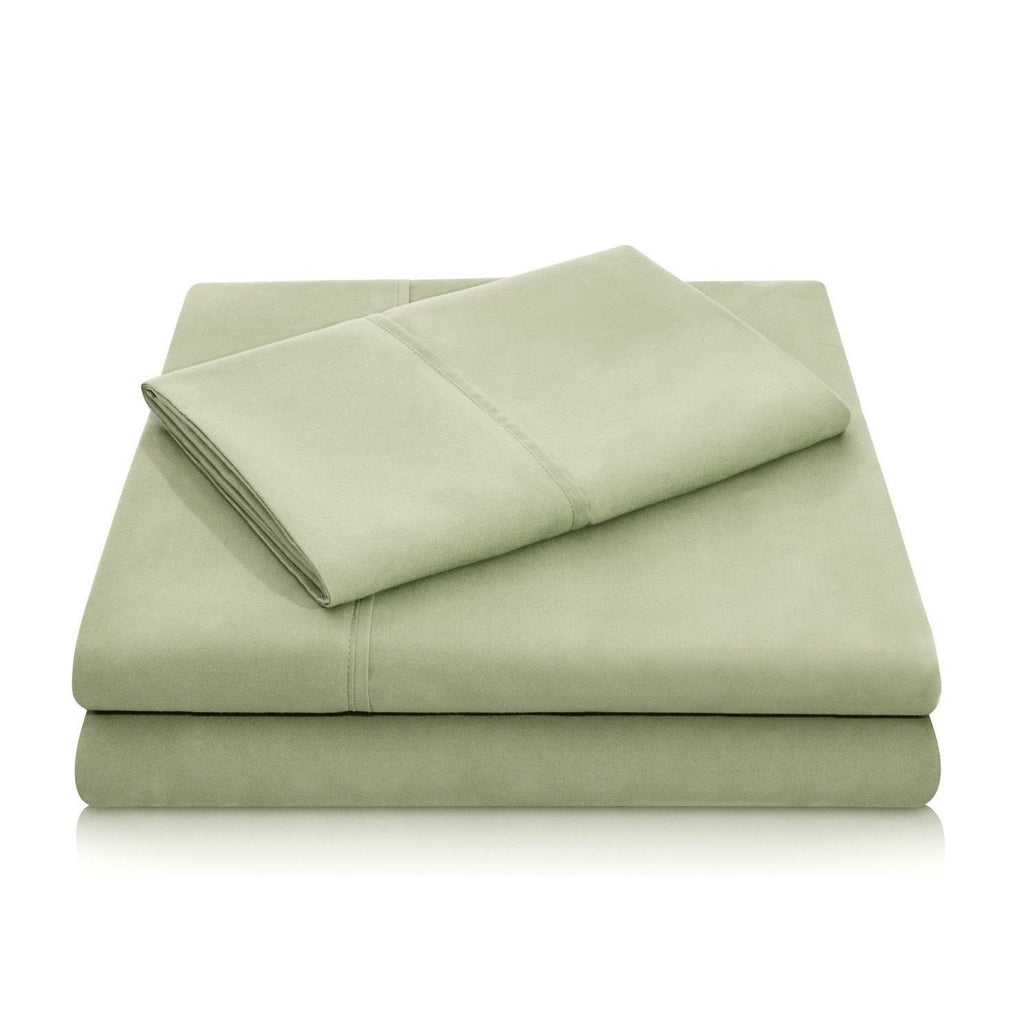 Malouf Brushed Microfiber Fern Sheet Set-Malouf-Sleeping Giant