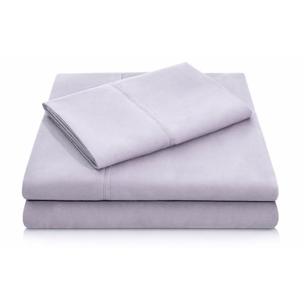 Malouf Brushed Microfiber Lilac Pillowcase-Malouf-Sleeping Giant