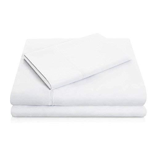Malouf Brushed Microfiber White Pillowcase-Malouf-Sleeping Giant