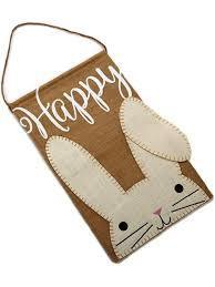 MudPie Easter Bunny Stops Here Hanger-One of a Kind-Sleeping Giant