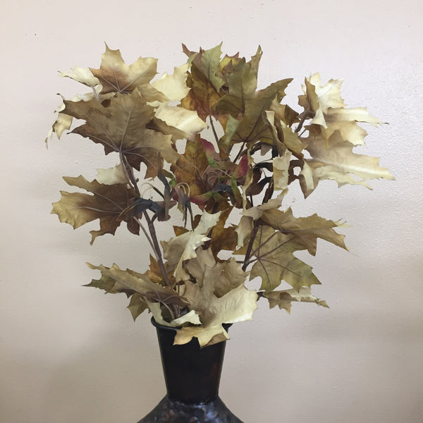 Parkhill Artificial Crafted Autumn Leaves Stem-Parkhill-Sleeping Giant