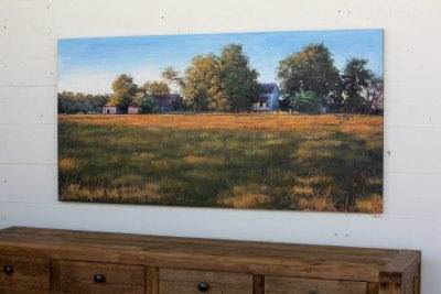 Parkhill Sunrise On The Farm Giclee Painting-Parkhill-Sleeping Giant