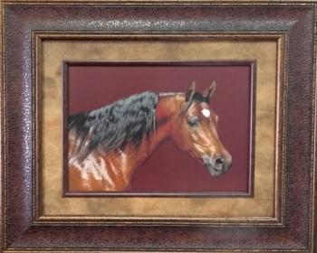 Picture King Horse Head Framed Art-Picture King-Sleeping Giant