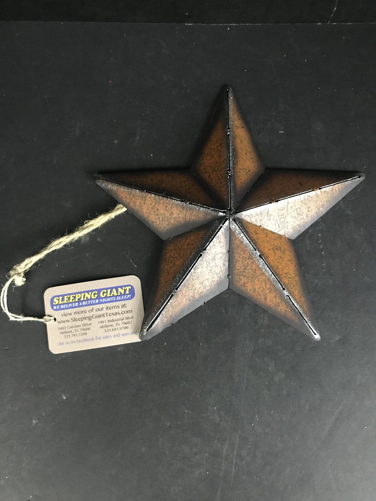 Rainbow Brown Metal Star Hanger-One of a Kind-Sleeping Giant