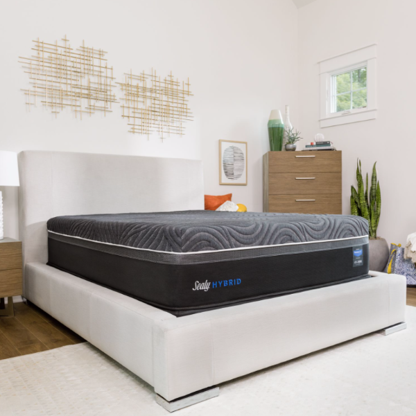 Sealy Premium Hybrid Silver Chill Firm-Tempur-Sealy-Sleeping Giant