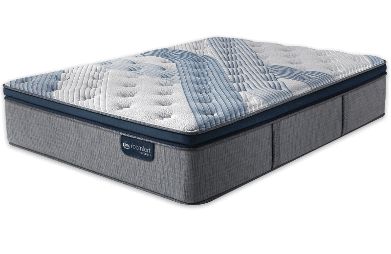 Serta® iComfort® Hybrid Blue Fusion 1000 Plush Pillow Top-Serta-Sleeping Giant