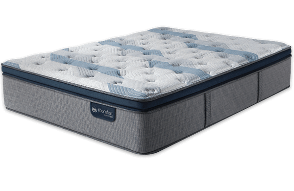 Serta® iComfort® Hybrid Blue Fusion 300 Plush Pillow Top-Serta-Sleeping Giant