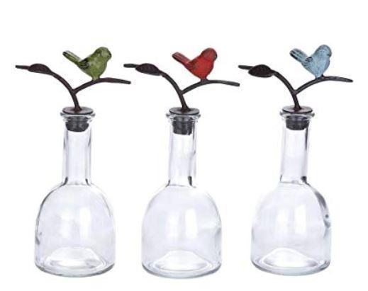 UMA Cast Iron Bird Top Glass Bottle-UMA-Sleeping Giant