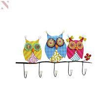 UMA Owl Hook Wall Decor-UMA-Sleeping Giant
