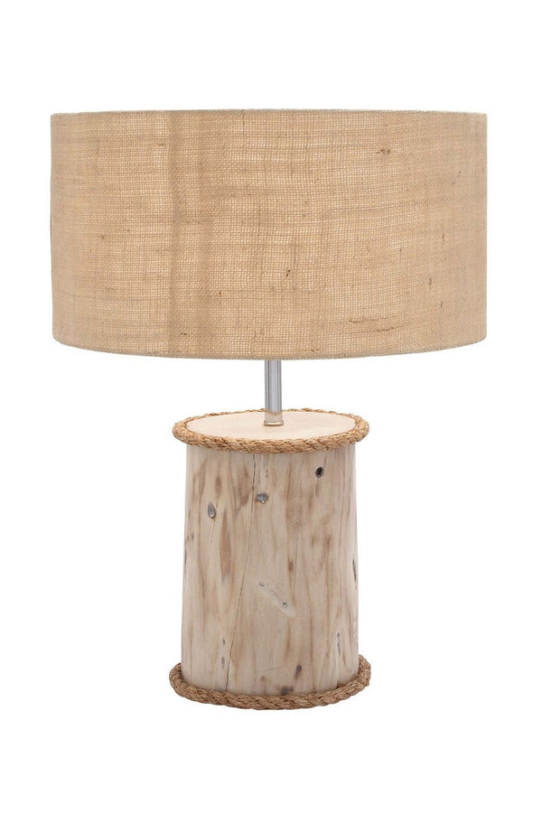 UMA Wood Mahogany Log Lamp-UMA-Sleeping Giant