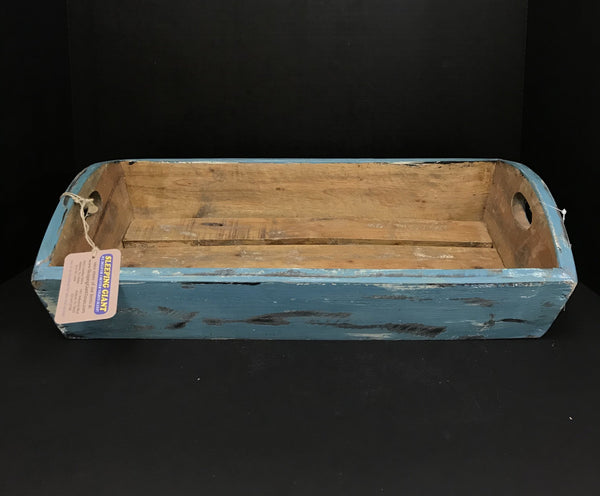 UMA Wood Tray Large Blue-UMA-Sleeping Giant