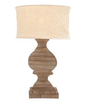 UMA Wooden Table Lamp-UMA-Sleeping Giant