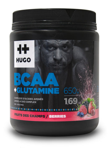 bcaa + glutamine fruits des champs, Hugo