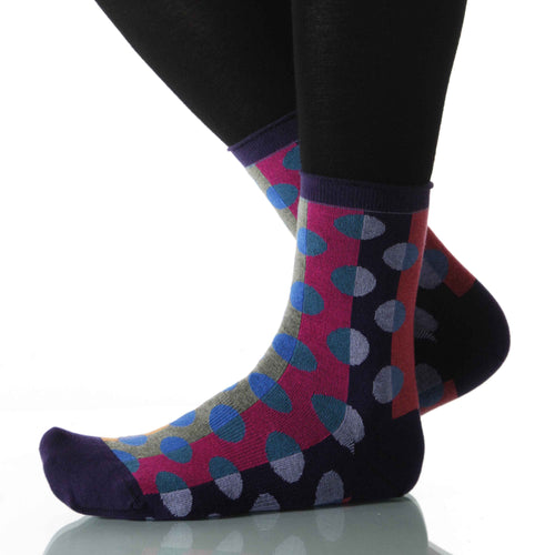 Circus Spare Change (Polka Dot) - Ankle Height