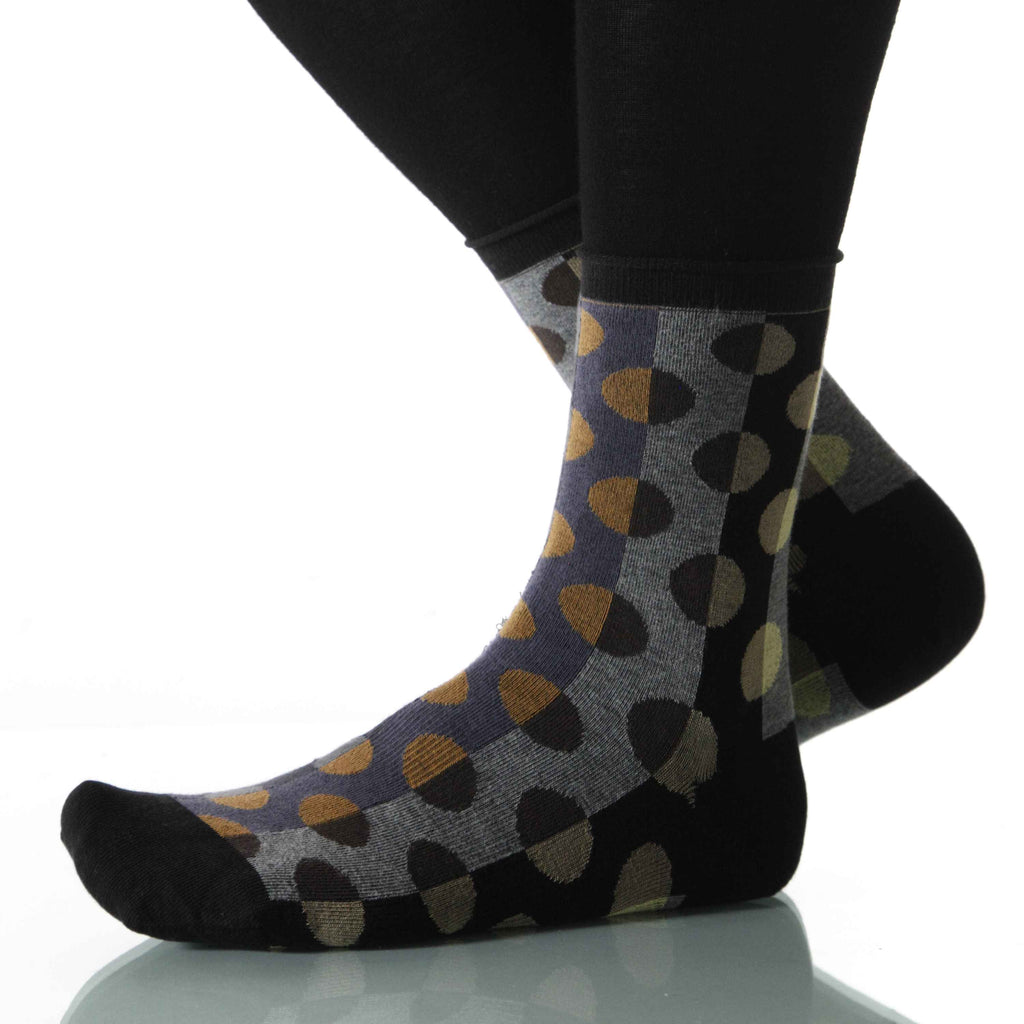 Mist Spare Change (Polka Dot) - Ankle Height